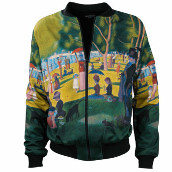 Georges Seurat_A Sunday Afternoon on the Island-bomber jacket-1