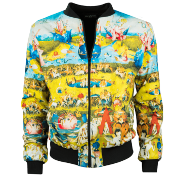 Hieronymous Bosch-The Garden of Earthly Delights-bomber jacket-1