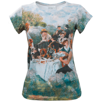 Luncheon of the Boating Party-Tshirt-D