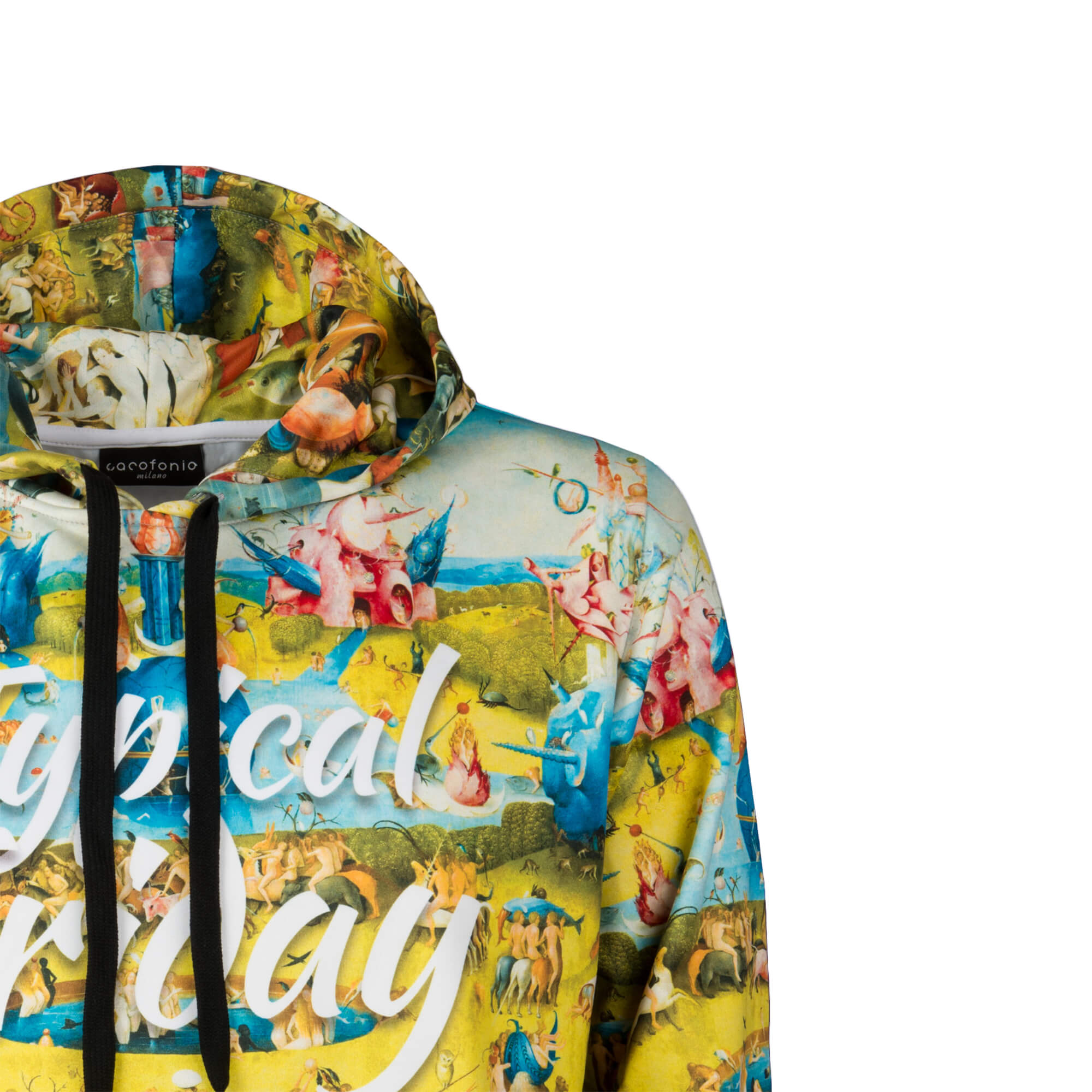 The Garden Of Earthly Delights Hoodie Cacofonia Milano