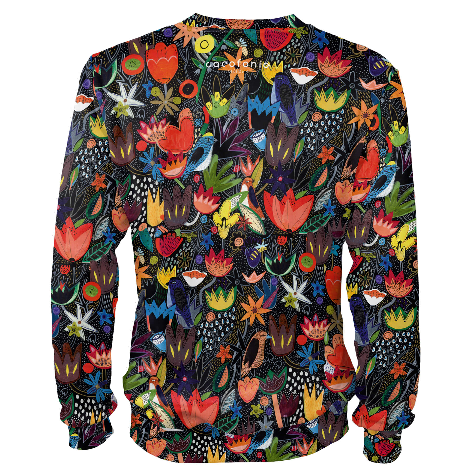 Colorful jungle_bluza_prosta Cacofonia Milano