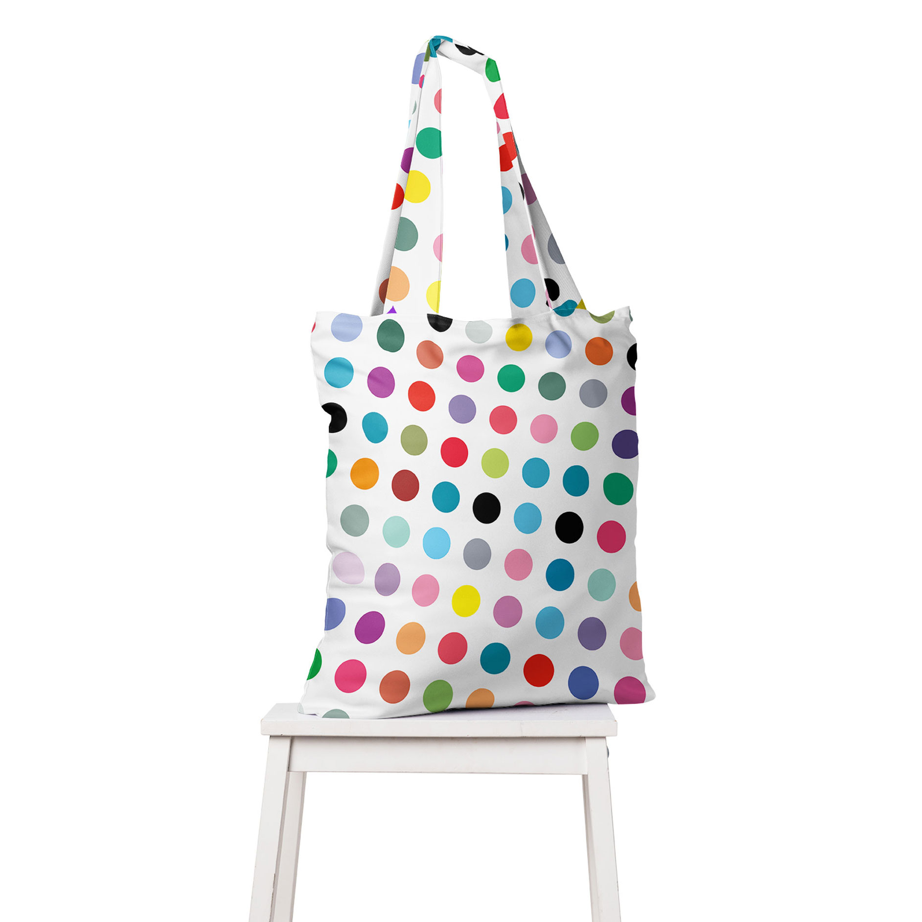 Dotty_torba_1_Damien_Hirst_colorful_dots