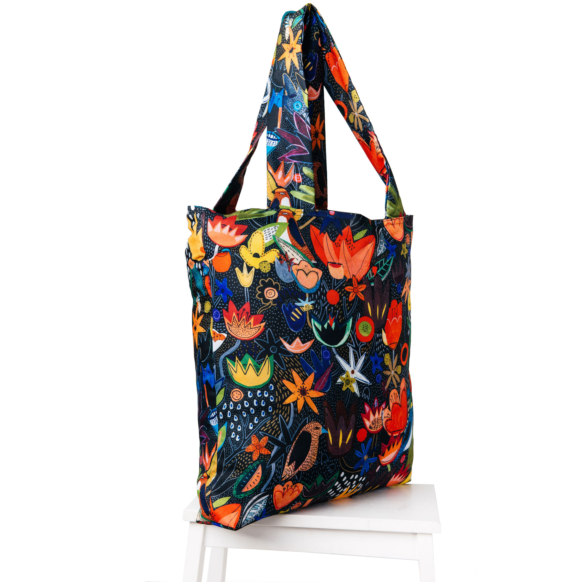 Torba-Colorful-Jungle-Bag-Cacofonia-handmade-paintings-flowers-birds-gift2