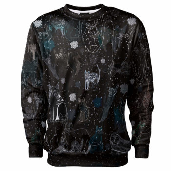 Cosmic cats_bluza_prosta_front_2