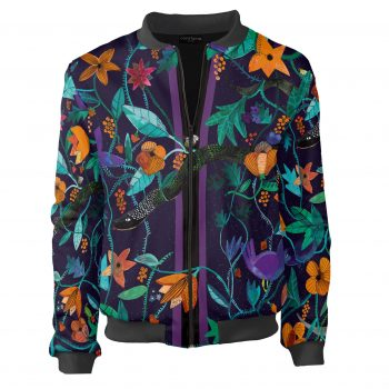 Garden of Eden_rajski ogród_floral motifs_clothes with flowers_snake_Cacofonia Milano9