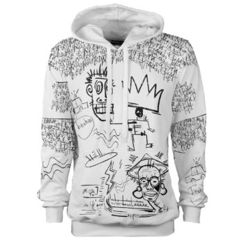 King-White_bluza_kaptur_bluza z graffiti