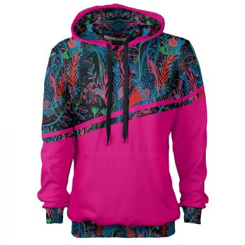 Sporty colorful hoodie