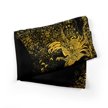 Black-Peacocks-black-silk-scarf