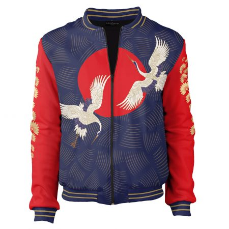 bomber-jacket-Japanese-the-cranes-are-flying-stylish-cacofonia-milano